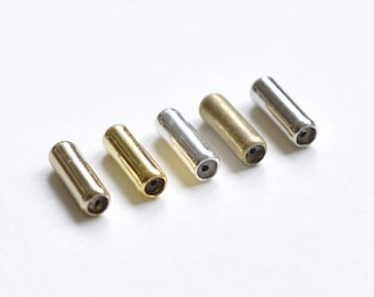 50 pcs Antique Bronze/Silver/Gold/Rose Gold/Platinum/Raw Brass Stick Pin Bottom Clutch Rubber Stoppers Backs 10mm