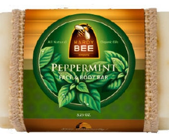 Hardy Bee Co. Peppermint Face & Body Bar Soap