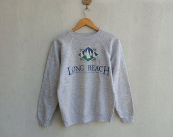Vintage Sweatshirt Long Beach California