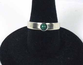 Design your own Wide Stacking Ring with 4mm stone on wide band