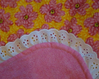 Pink and Yellow Floral Fun
