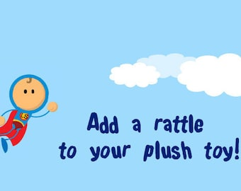Add a Rattle to Your Plush Toy