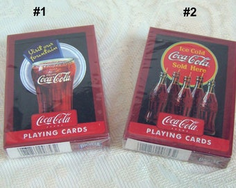Coca Cola Playing Cards by Bicycle - MIB