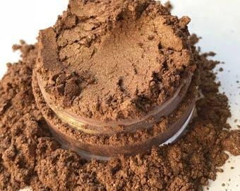 Copper, Mineral Eye Shadow, All Natural, Vegan, Handmade