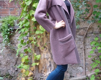 PDF Sewing Pattern Collar-Sleeve Coat with Ebook sewing instructions