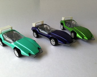 Johnny Lightning Lot Custom Spoilers 3 Different Colors Commemorative Edition