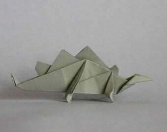 Stegosaurus - Dinosaur - Origami