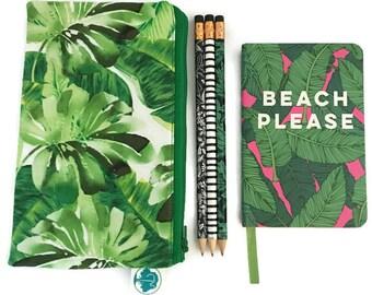 Pencil Pouch - Makeup Bag - Zipper Pouch - Cosmetic Bag - Zipper Clutch - Pencil Bag - Cosmetic Case - Pencil Case - Gadget Bag