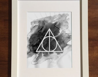 Harry Potter • Deathly Hallows Digital Print