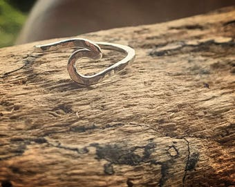 Maui Wave Ring Sterling Silver