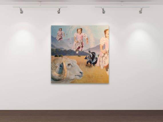 Deja vu I Kunstdruck Gemälde von Stephanie Oncken