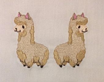 Pack-a Alpaca machine embroidery design 4x4