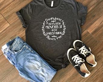Harley Quinn Proverbs 31 T-shirt