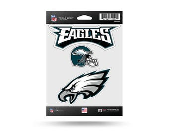 Philadelphia Eagles NFL 3 Pack Stickers