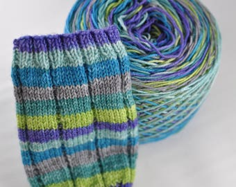 "Self-Striping Yarn - ""Octopus's Garden"""