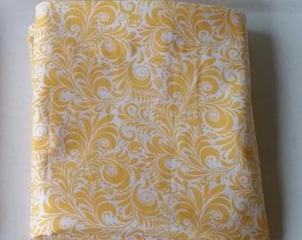 Pillowcase Item # 15 ... yellow paisley