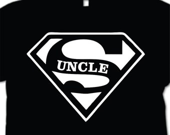 Super Uncle T-shirt  Men's Shirt Gift for Best Uncle personalized gift