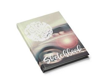 Retro VW Beetle Sketchbook Or Journal  Blank