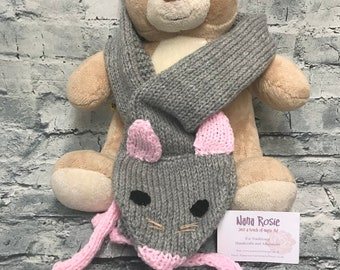 Scarf, Novelty Scarf, Mouse Scarf, Kids Gift