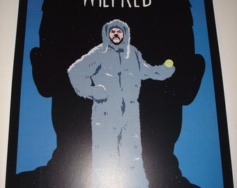 Wilfred poster print