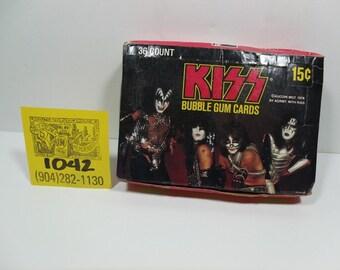 1978 Donruss/Aucoin Mgnt.KISS Bubblegum Cards-Full box!