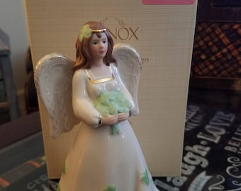 Lenox St Patrick's Day Irish Angel figurine