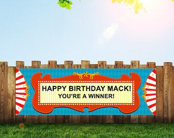Circus,Circus Banner,Big Top,Circus Birthday,Circus Party