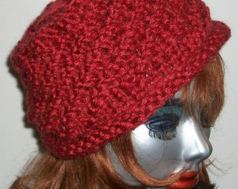 HAT WOMEN KNITTED  Chunky Bulky Xmas gift  Woman Sequins Cloche Beanie Holidays   Bling