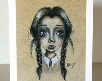 Wednesday Addams 5x7 Print