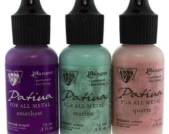 Vintaj Patina Ink Set - 3 Colors - Victorian Gable  (PM4101)
