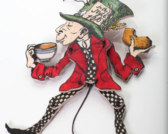 The Mad Hatter jumping jack