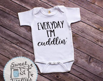 Baby boy outfit, Baby girl set, Everyday I'm Cuddlin', Baby Shower Gift, Baby boy clothes, Baby girl clothes, Newborn Outfits, Newborn Set