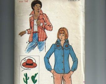 Butterick Misses' Shirt  Pattern 3543