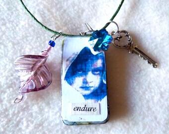 Endure Ragamuffin necklace, No. 73