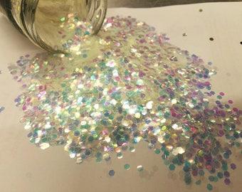 5gr Large hexagonal glitter - various colors