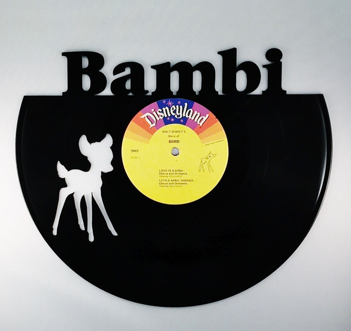 BAMBI Vinyl Record Wall Art