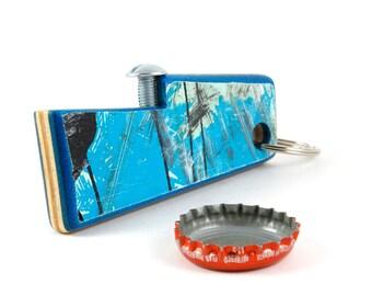 Bottle Opener made from broken skateboards