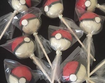 Pokemon Cake Pops