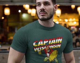Captain Wisconsin T-Shirt