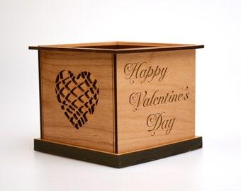 Interchangeable Tealight Holder™ - Happy Valentine's Day Tealight Holder