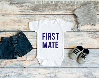 First Mate Baby Bodysuit / Onesie