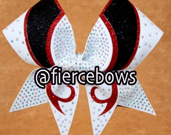 Unbelievable Rhinestone and Glitter Bow