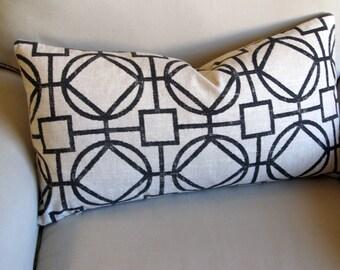 13x26 ONYX decorative designer bolster pillow 13x26 with insert
