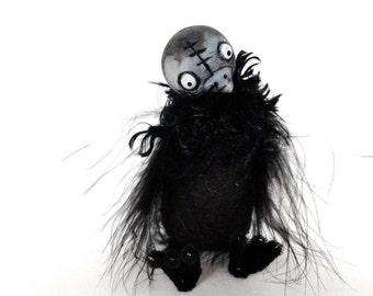 ckicken chick bjd prop black bird feathered bird easter can customized