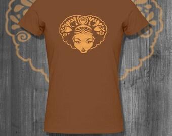 Love my Natural Hair Afro T shirt tops and tees t-shirts t shirts  Free Shipping