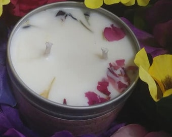 Soy & Floral Candle