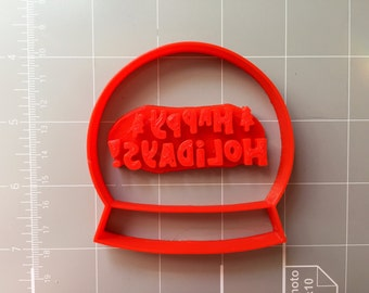 Holiday Globe Cookie Cutter