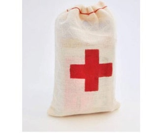 Hangover Kit / First Aid Kit Muslin Bag (75-pack)