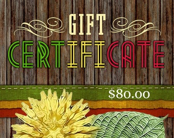 80 Dollar - WGseed Gift Certificate