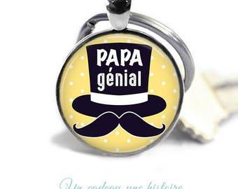 Keychain dad fathers day @3